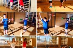 Basistraining (Kraft, Koordination, Schnelligkeit, Balance) und Krafttests mit Sportwissenschaftler Toni Smrtnik